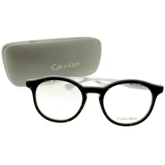 beff280ddff CK5932-229-51 Oval Women Tortoise Frame Eyeglasses. NWT. Calvin Klein